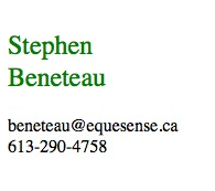 contact information for Stephen Beneteau
